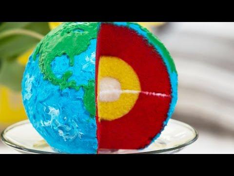LAYERED EARTH CAKE - NERDY NUMMIES