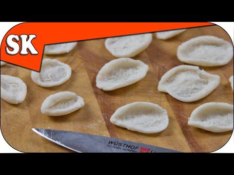 Egg Free Pasta - How to make Orecchiette