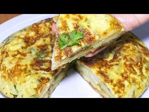 Best Spanish Omelette Recipe | How to make Spanish Omelette Quickly | Kanak's Kitchen