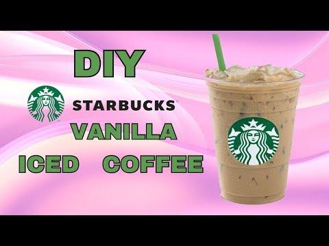 DIY Starbucks Vanilla Iced Coffee
