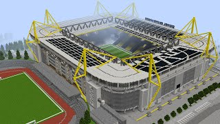mercedes benz stadium minecraft. Minecraft - Signal Iduna Park (Westfal2 Years Ago Mercedes Benz Stadium