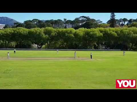 Lance Klusener and Makhaya Ntini's sons face off on the cricket pitch!