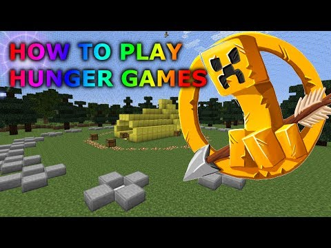 How to Join a Minecraft Hunger Games Server - How to Play Minecraft Hunger Games Online - Tutorial