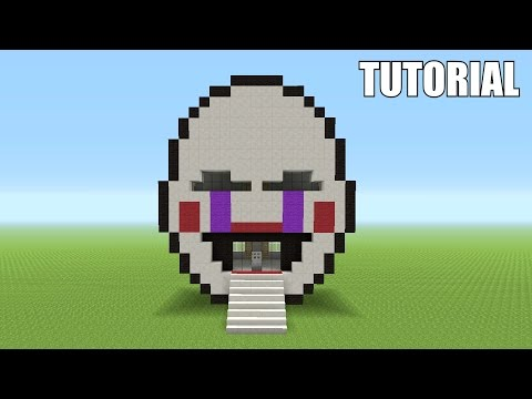 Minecraft Tutorial: How To Make A Marionette Head