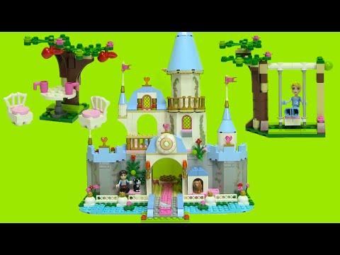 Cinderella's Romantic Castle Lego 41055 Step by Step Build Disney Princess