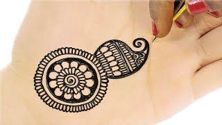 Latest Arabic Mehndi Design For Hands | Mehndi Designs for Hands #77 @ jaipurthepinkcity