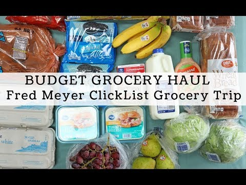$40 Grocery Haul Using ClickList, Online Grocery Shopping