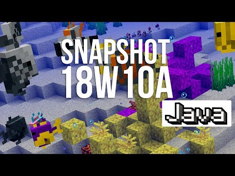Minecraft Snapshot 18W10A