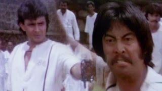 Mithun Chakraborty & Danny Denzongpa have a chain fight - Hum Se Hai Zamana, Action Scene 4