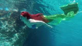 Real-Life Ariel ♥ The Little Mermaid 🐠 Stella the Siren