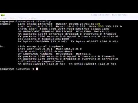 How to find MAC address in Ubuntu
