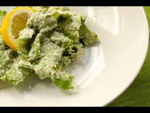 How to Make Creamy Caesar Salad Dressing - Gluten Free