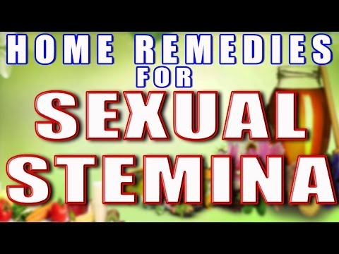 Home Remedies for Sexual Stamina II घरेलू नुस्खों से सेक्स स्टेमिना बढाए II