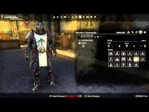 The Elder Scrolls Online How To Create A Guild Tabard