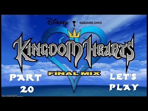 Kingdom Hearts Final Mix Let's Play - Where Is Double Jump? (Part 20)