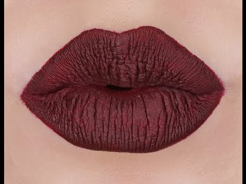 How I Hide Dry And Chapped Lips With Vampy Lipstick