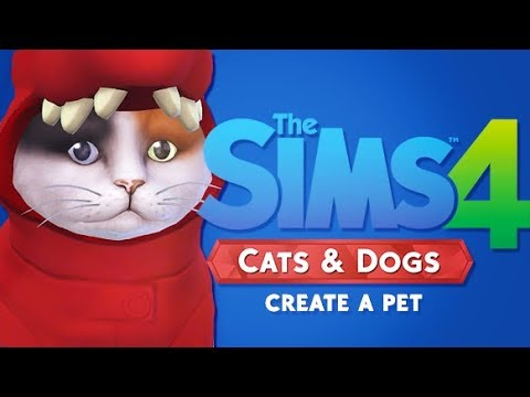 CREATE A PET OVERVIEW  | THE SIMS 4 CATS AND DOGS // EXCLUSIVE