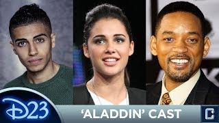 """Aladdin"" Cast Revealed - D23 Expo 2017"