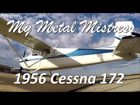 My Metal Mistress - A look inside - A Totally Restored 1956 Cessna 172
