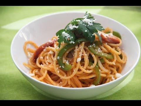 Spaghetti Neapolitan Recipe - Japanese Cooking 101