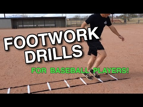 How To: Baseball Footwork Drills for SPEED and QUICKNESS!