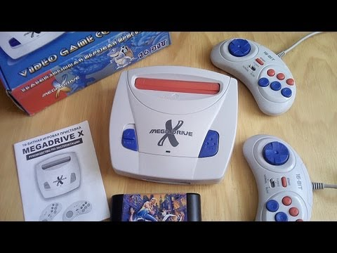 Clone Console - Mega Drive X - Russian Import - Fake SEGA Genesis Mk3 - Mini Review