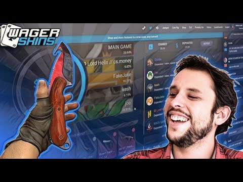 Wager Skins NEW CSGO JACKPOT SITE!!!
