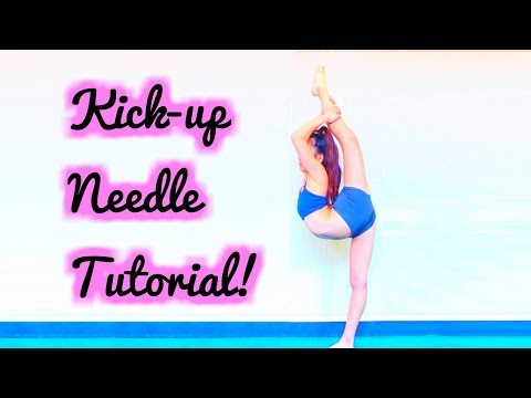 HOW TO DO A KICK UP NEEDLE