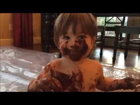 Kids Activities Series:  Chocolate Finger Paint