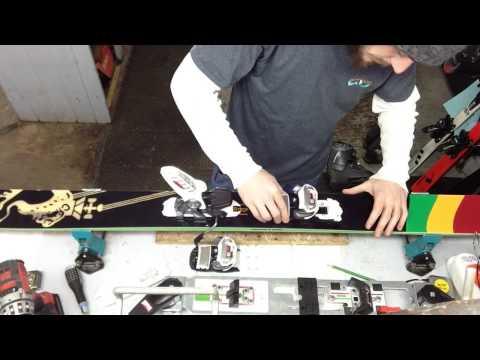 Mounting Marker Ski Bindings