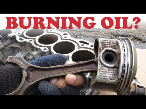 Why do Cars Burn Oil?