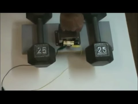 Easy-to-Build Electromagnet lifts over 50 lbs