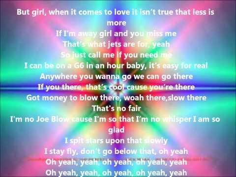 Justin Bieber ft Jaden Smith Fairytale Lyrics