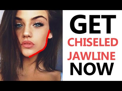 Get Perfect Jawline & Cheekbones - Reduce Facial Fat - Beauty Tips