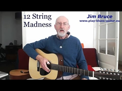 Acoustic Blues Guitar Lessons - 12 String Guitar