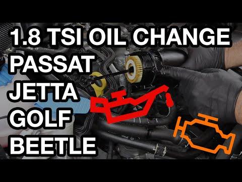 VW Passat/Jetta/Golf/Beetle TSI Oil Change (EA888 Gen 3 1.8 Motor)