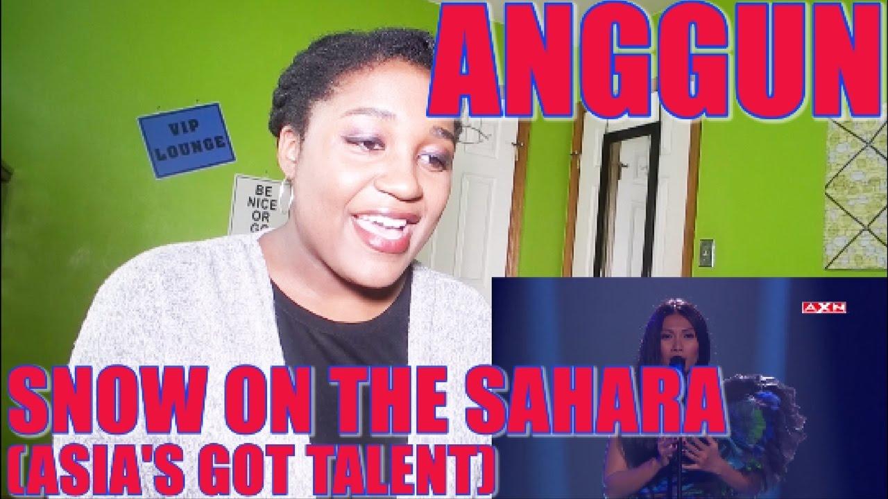 Download Anggun - Snow On The Sahara (Live Performace) [Asia's Got Talent] | REACTION [GREAT PERFORMANCE!] MP3 Gratis