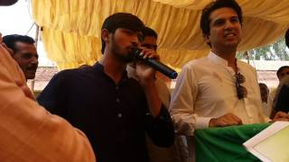 Pmln k MPA Makhdom Hashim Jawan Bakht  ki speech k darmeyan Rana faryad  isf ny mu tor Jawab dia