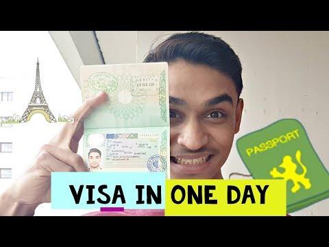 How to get visa in one day | VISA INTERVIEW | Schengen Visa Process | Life In Europe