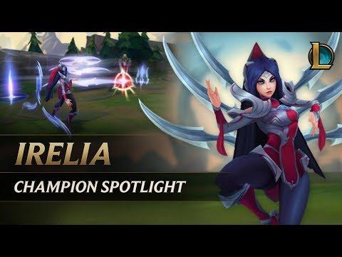 Irelia Champion Spotlight   Gameplay - League of Legends