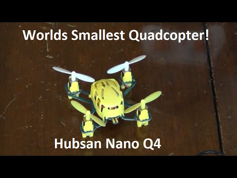 Hubsan Nano Q4 Review & Flight Test!