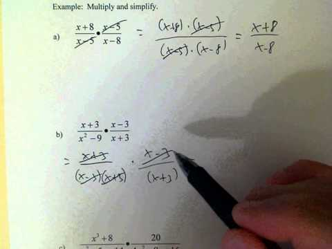085 6 1 Multiplying Rational Expressions
