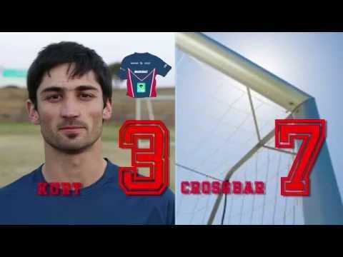 NMMU's #CrossbarChallenge - Varsity Football