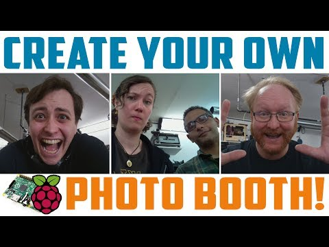 Portable Raspberry Pi Photo Booth