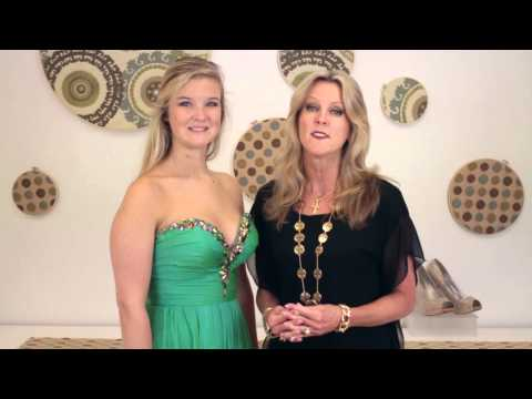 How to Look Skinny in a Prom Dress : Homecoming & Prom Fashion