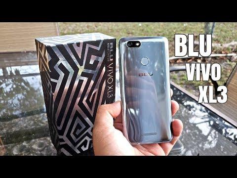 Blu Vivo XL3 - Android 8.0 Oreo -3GB/32GB - USA LTE - 13MP/8MP - 5.5
