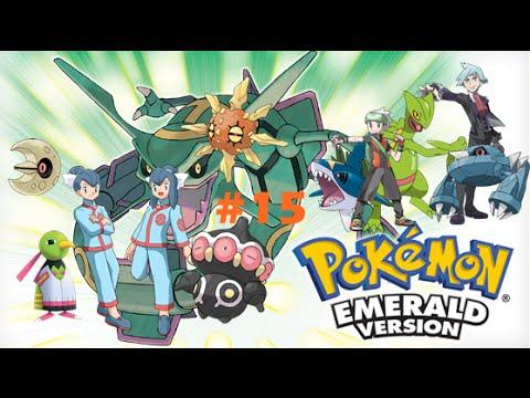 Pokémon Emerald #15 - Tate e Liza / Team Magma / HM 08 Dive / Steven e Tutu Foda!!