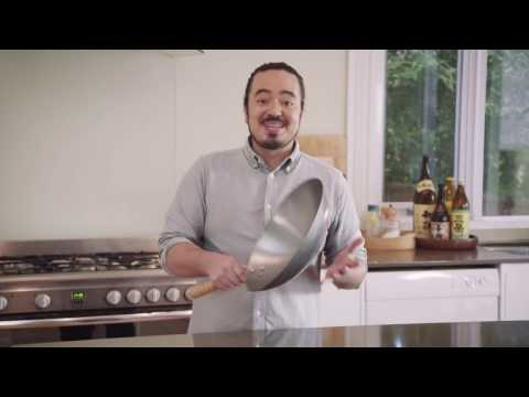 Seasoning A Wok  - Adam Liaw's Asian Cookery School