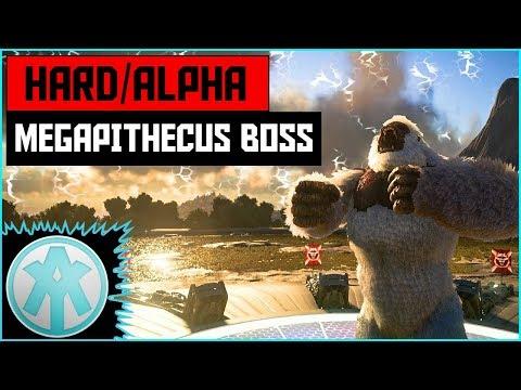 Ark Alpha Megapithecus Boss Fight Official Servers