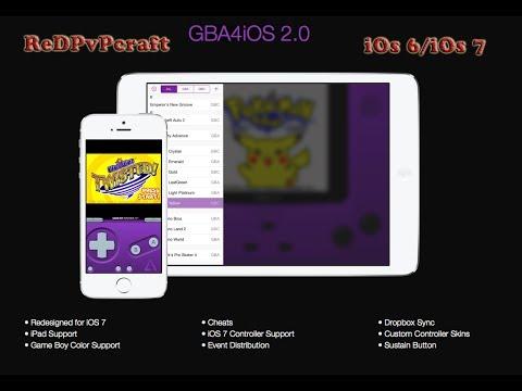 Installer Pokemon/Mario sur iOs 7 & iOs 6 (sans jailbreak) - GBA4iOS
